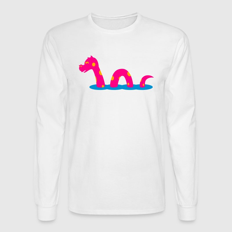 Funny sea monster Long Sleeve Shirts - Men's Long Sleeve T-Shirt