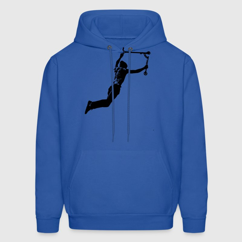 Stunt Scooter Rider Actio Hoodies - Men's Hoodie