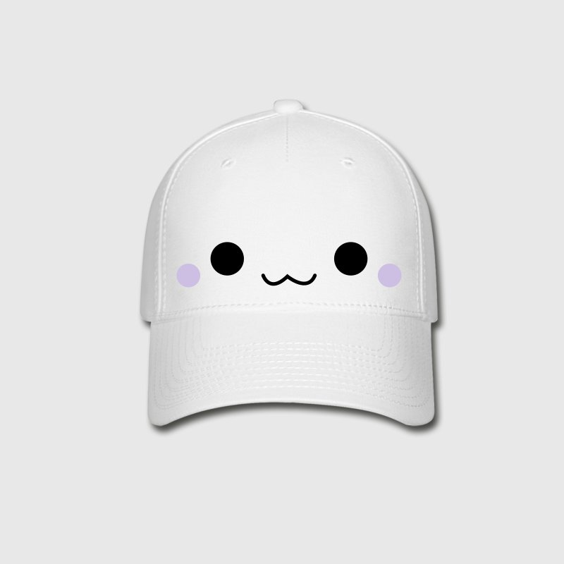 Cute emoticon face Caps - Baseball Cap