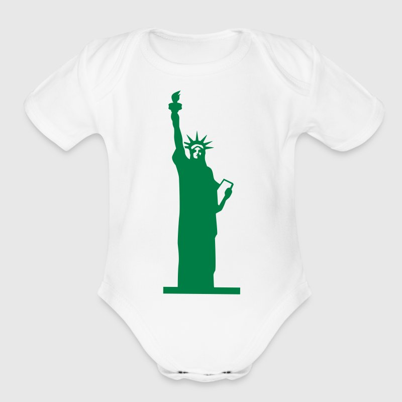 Statue of Liberty, Lady Liberty Baby & Toddler Shirts - Short Sleeve Baby Bodysuit