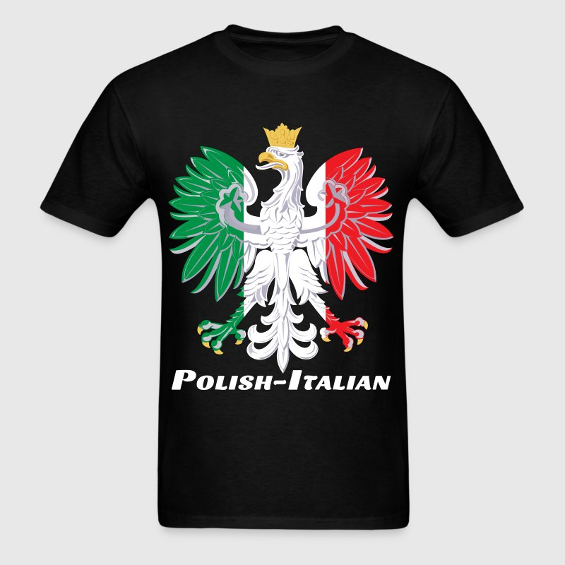 Polish American Pride - Men's T-Shirt