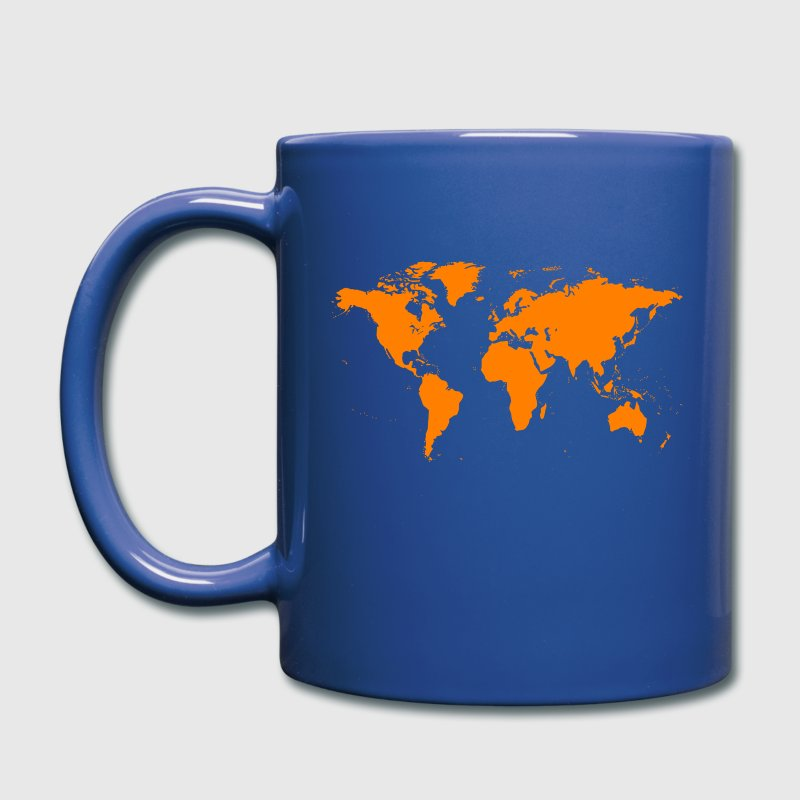 world map - Full Color Mug