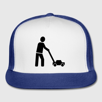 Lawn mower Mugs & Drinkware - Trucker Cap