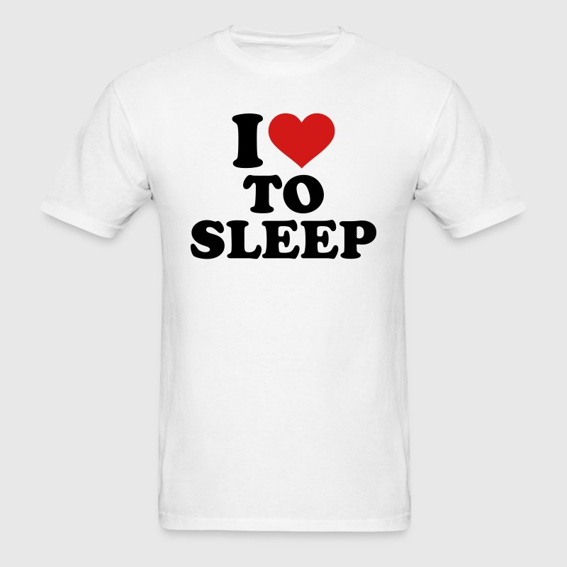I love to sleep T-Shirts - Men's T-Shirt