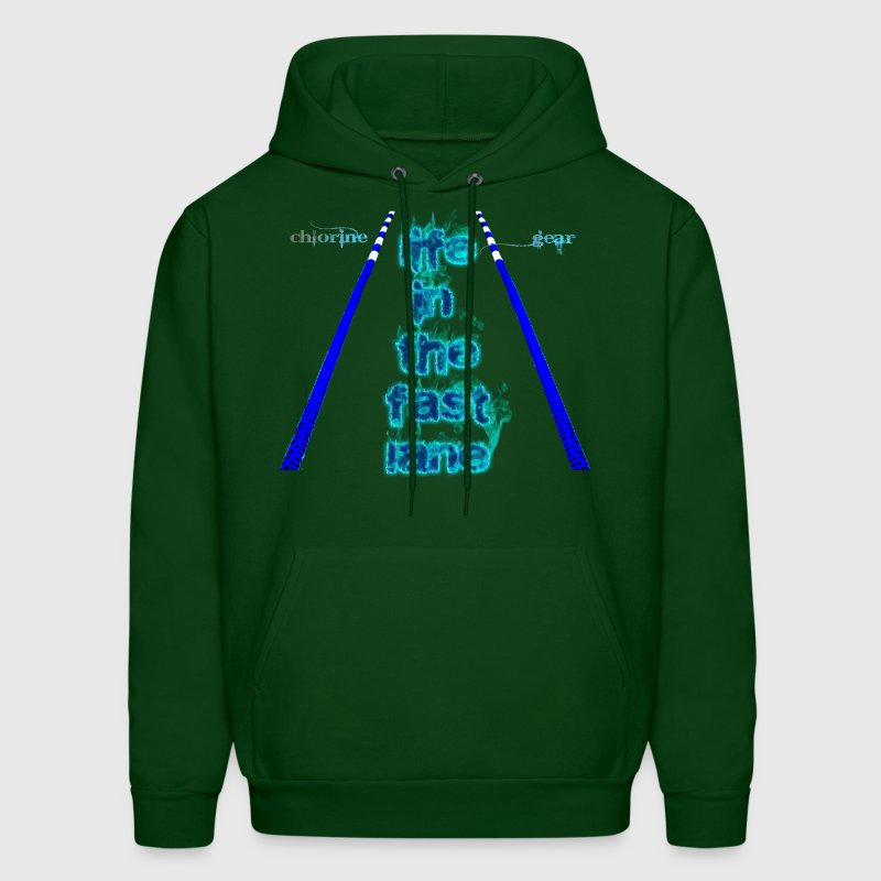 Life in the fast lane Hoodies - Men's Hoodie