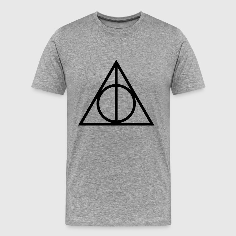 Deathly Hallows T-Shirts - Men's Premium T-Shirt