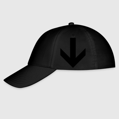 down arrow - Baseball Cap