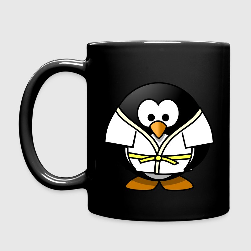Judo penguin - Full Color Mug