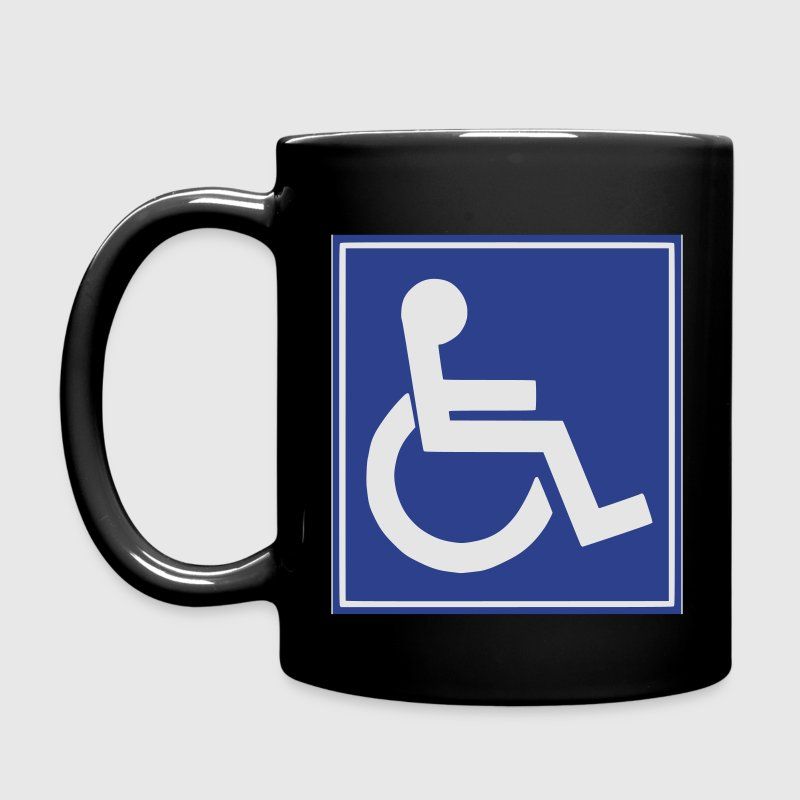 Handicap Sign - Full Color Mug
