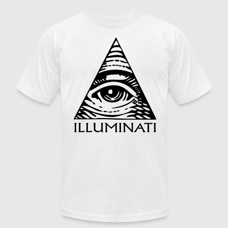 Illuminati T-Shirt | Men's - Men's T-Shirt by American Apparel