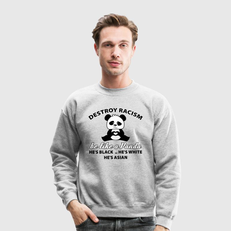 be like a panda - Crewneck Sweatshirt