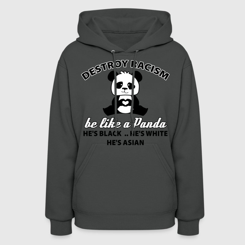 be like a panda - Women's Hoodie