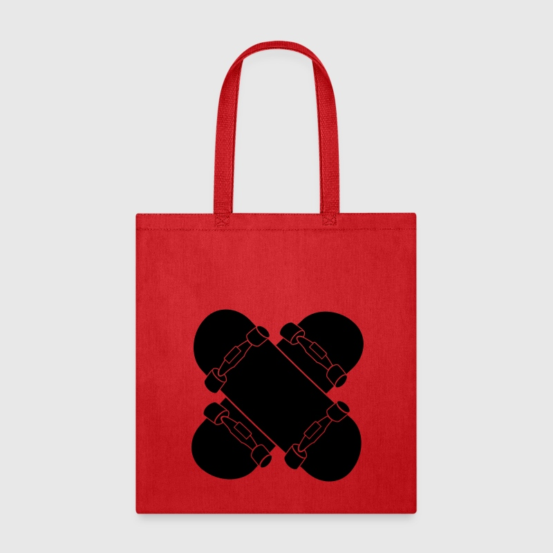 Skateboard cross Bags & backpacks - Tote Bag