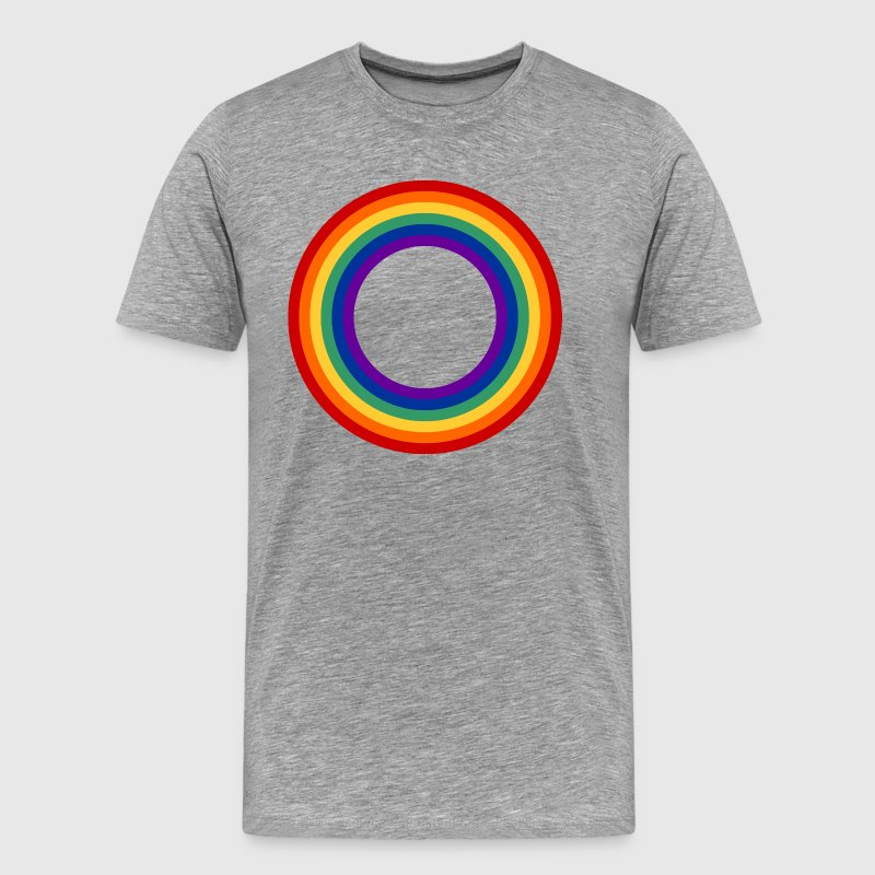 Rainbow Circle Shirt - Men's Premium T-Shirt