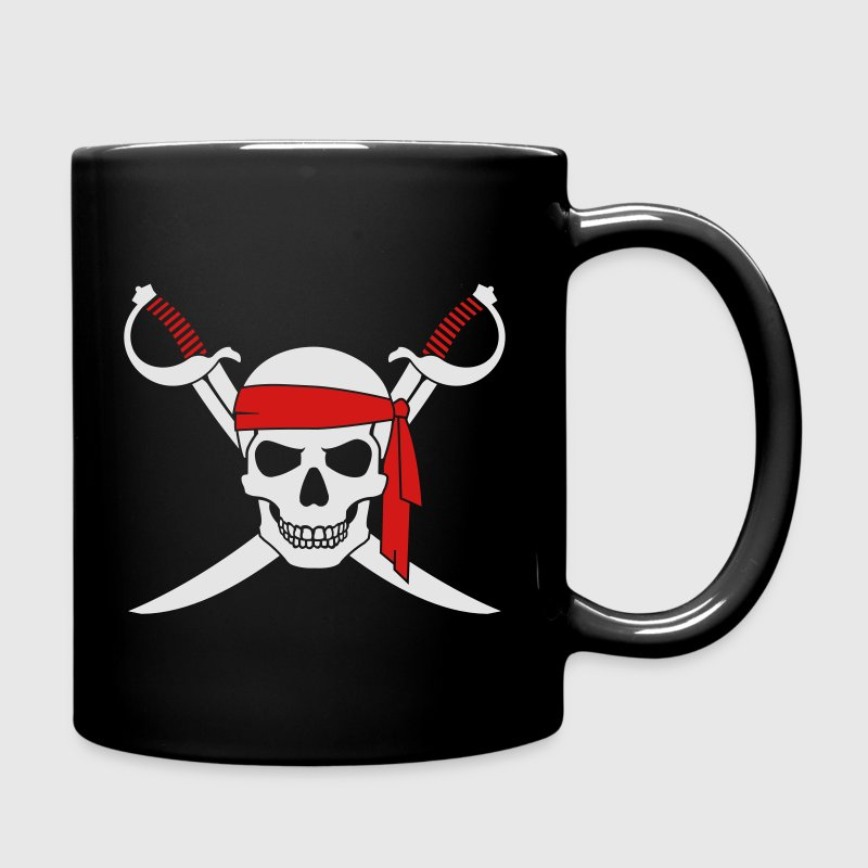 Pirate Skull v3 Mugs & Drinkware - Full Color Mug