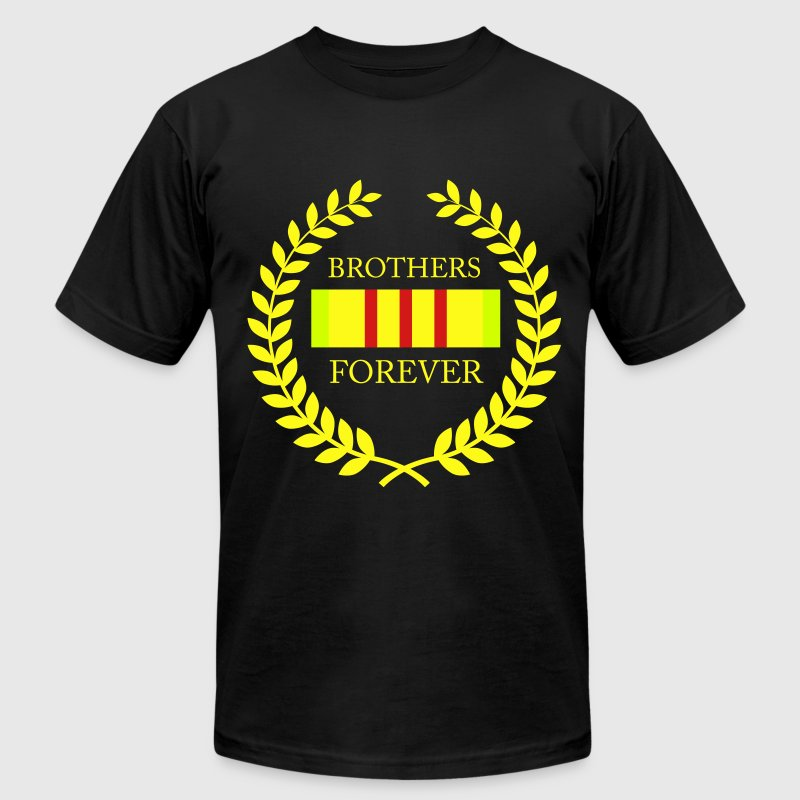 Vet Brothers Forever T-Shirts - Men's Fine Jersey T-Shirt
