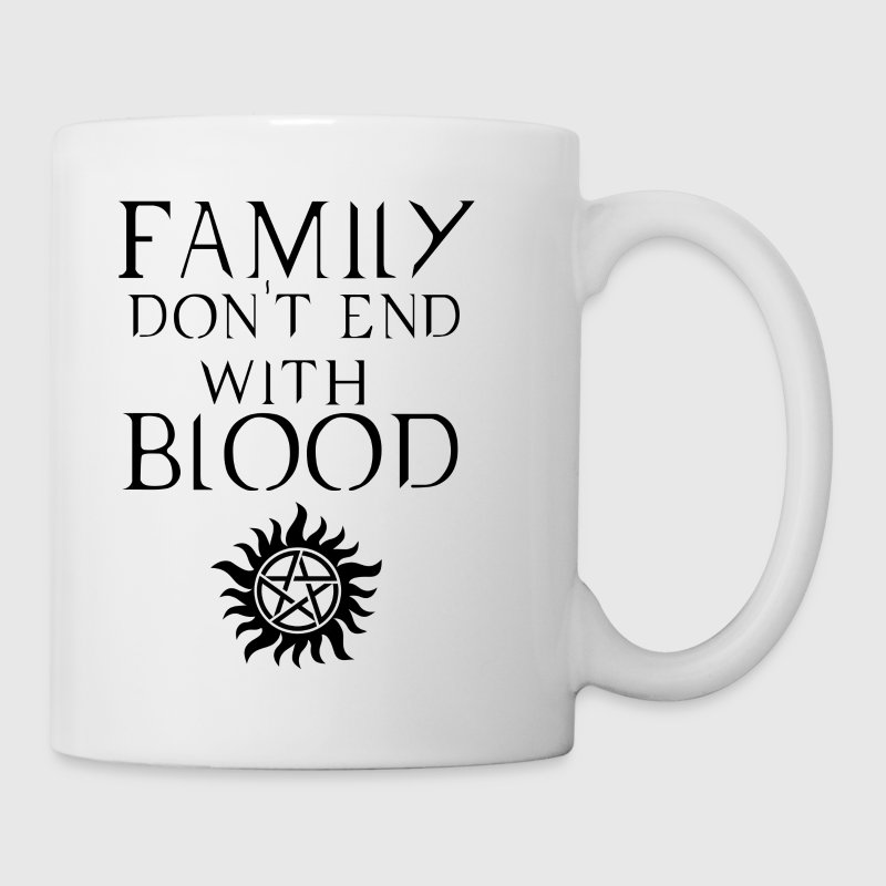 Supernatural White Mug - Coffee/Tea Mug