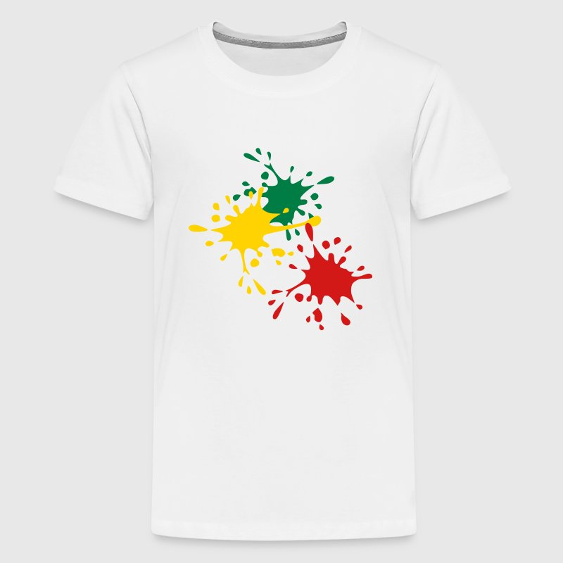 Color splash Kids' Shirts - Kids' Premium T-Shirt
