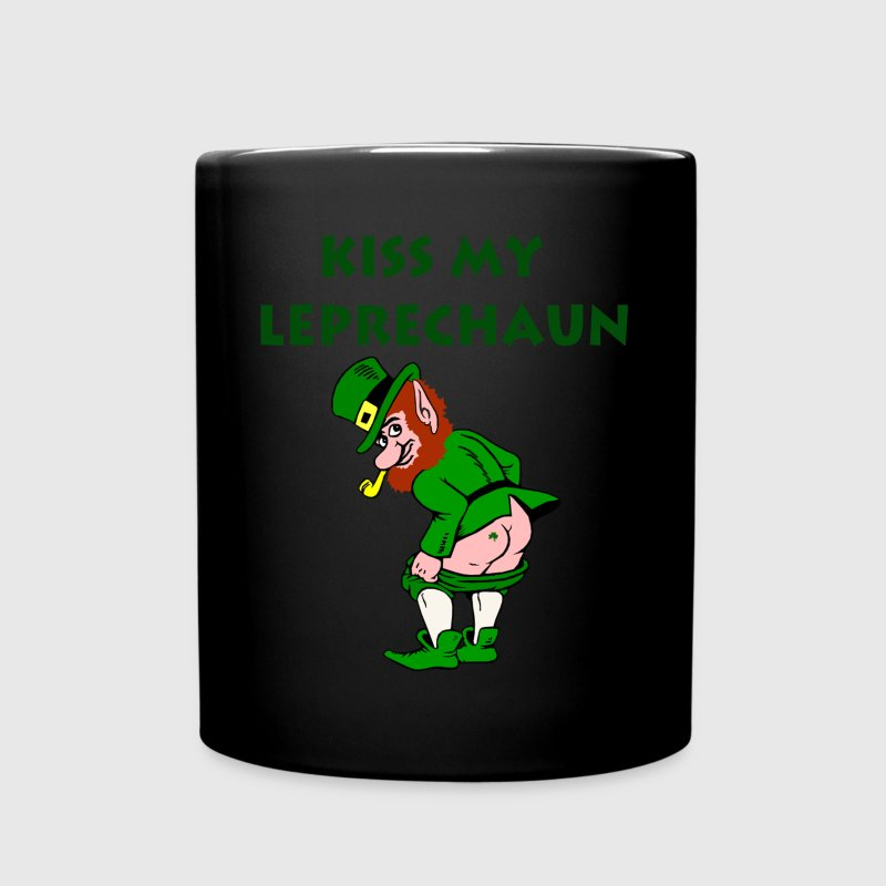 Funny Leprechaun St. Patrick's Day Mugs & Drinkware - Full Color Mug