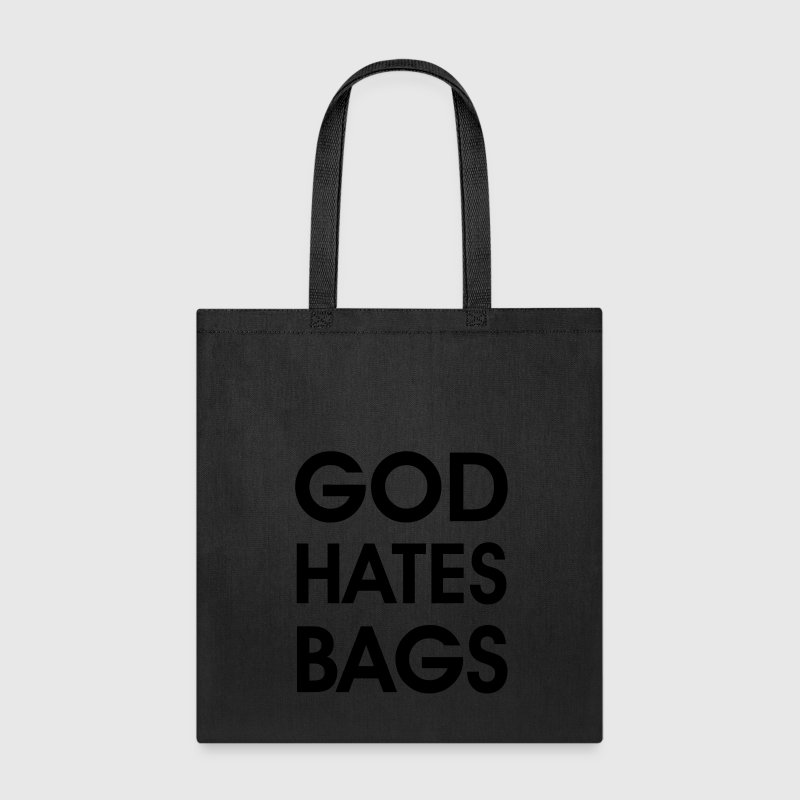 god hates bags Bags & backpacks - Tote Bag
