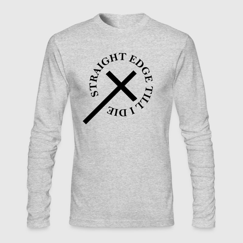 Straight Edge - Men's Long Sleeve T-Shirt by Next Level