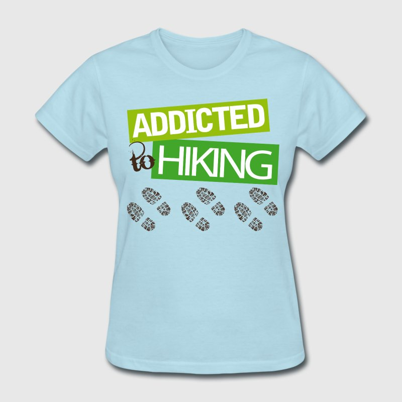 Hiker Gift I Love Hiking Women's T-Shirts - Women's T-Shirt