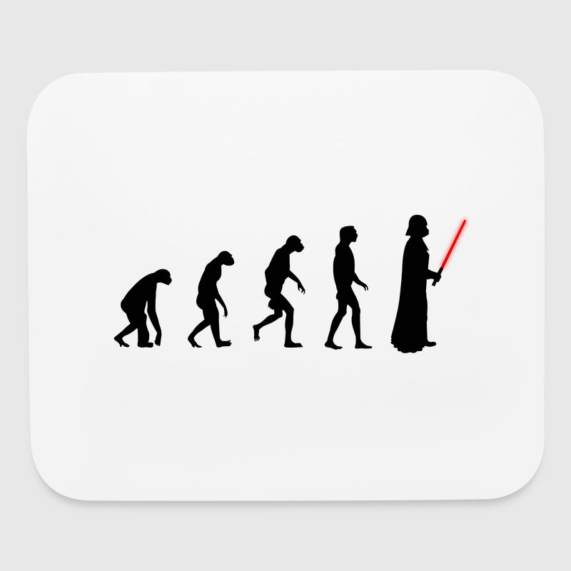 Evolution of the dark side Other - Mouse pad Horizontal