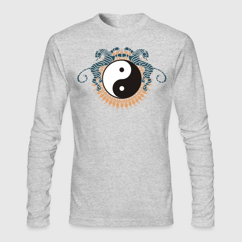 Yin Yang Symbol Tai Chi Chuan - Men's Long Sleeve T-Shirt by Next Level