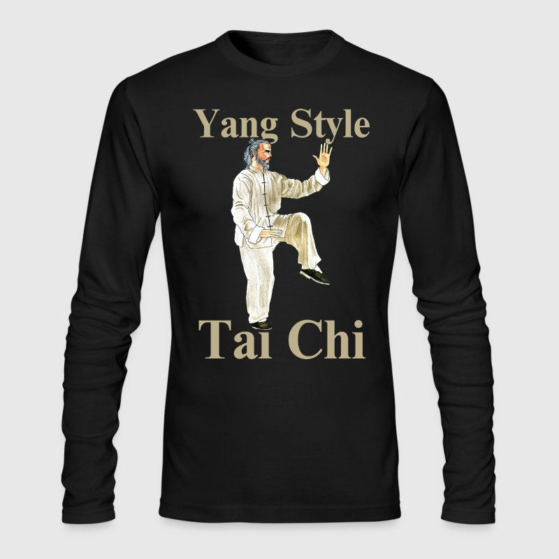 Yang Style Tai Chi Chuan T'ai Chi Ch'uan Taijiquan - Men's Long Sleeve T-Shirt by Next Level