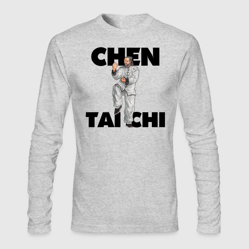 Chen Style Tai Chi Chuan T'ai Chi Ch'uan Taijiquan - Men's Long Sleeve T-Shirt by Next Level