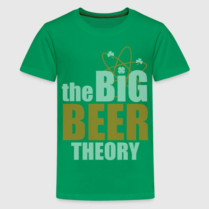 St Patricks Day The Big Beer Theory Kids' Shirts - Kids' Premium T-Shirt