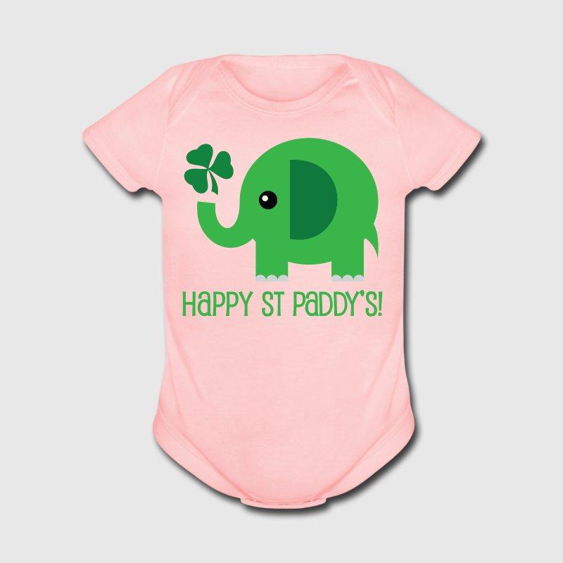 St Patricks Day Green Elephant One Piece | Spreadshirt