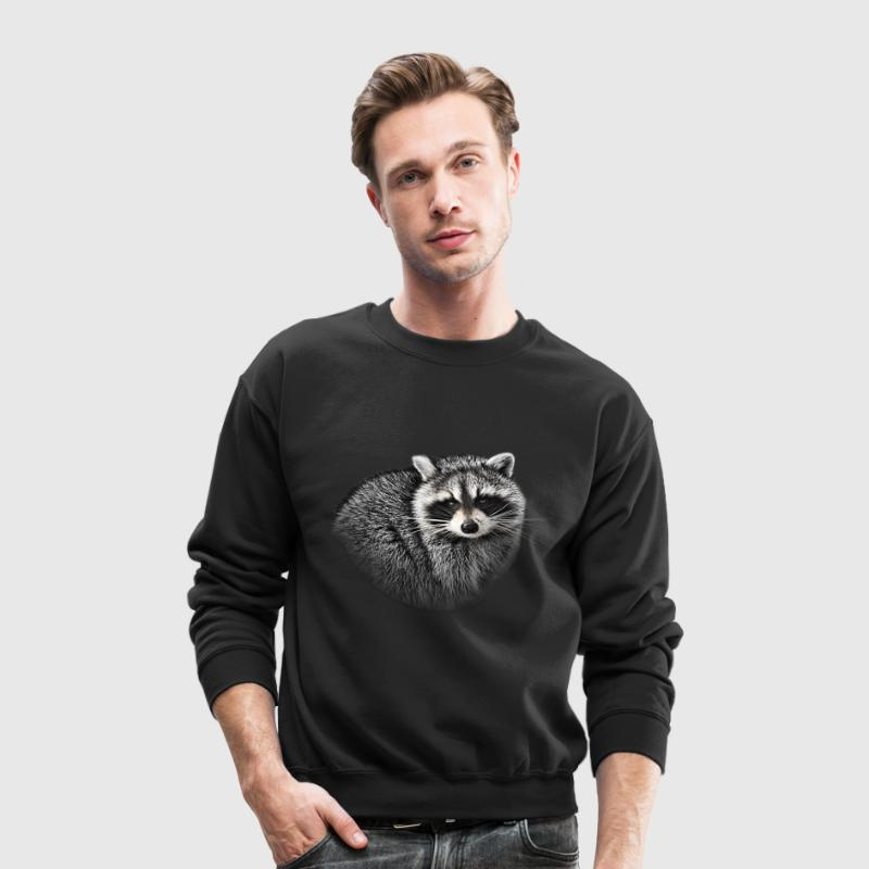 Raccoon. - Crewneck Sweatshirt