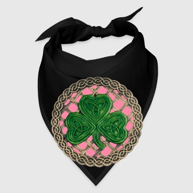 Pink Shamrock And Celtic Knots Mug - Bandana