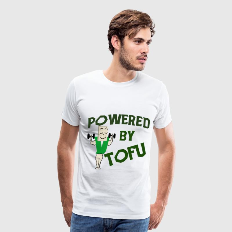 POWERED BY TOFU - Men's Premium T-Shirt