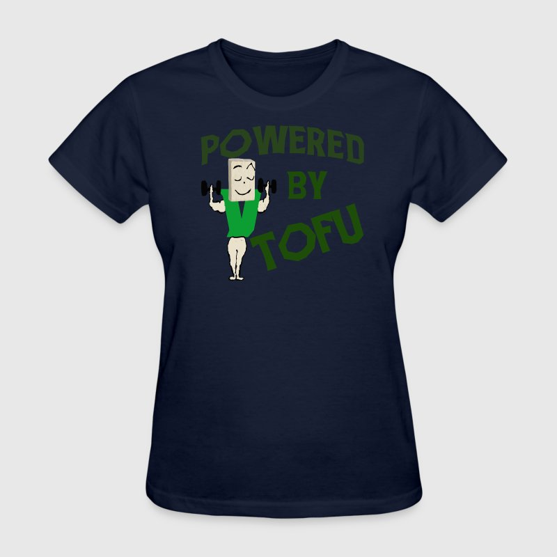 POWERED BY TOFU - Women's T-Shirt