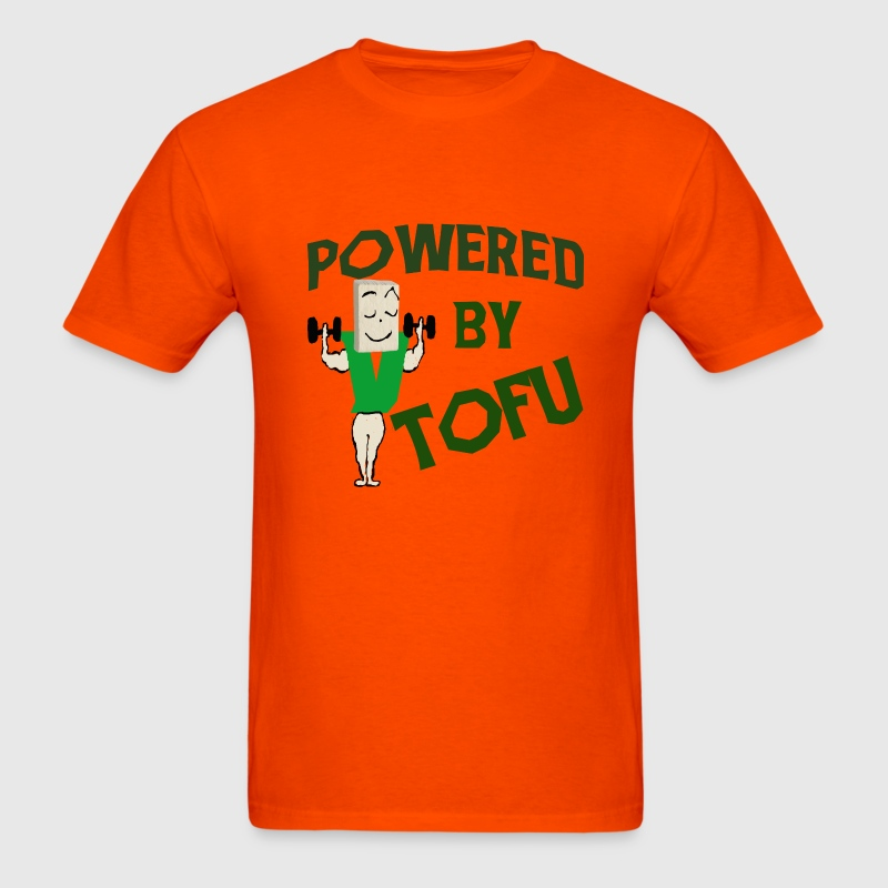 POWERED BY TOFU - Men's T-Shirt