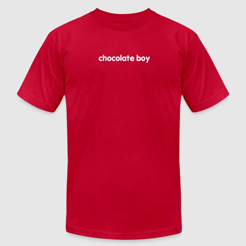 What Would Bear Do? chocolate boy T - Men's T-Shirt by American Apparel