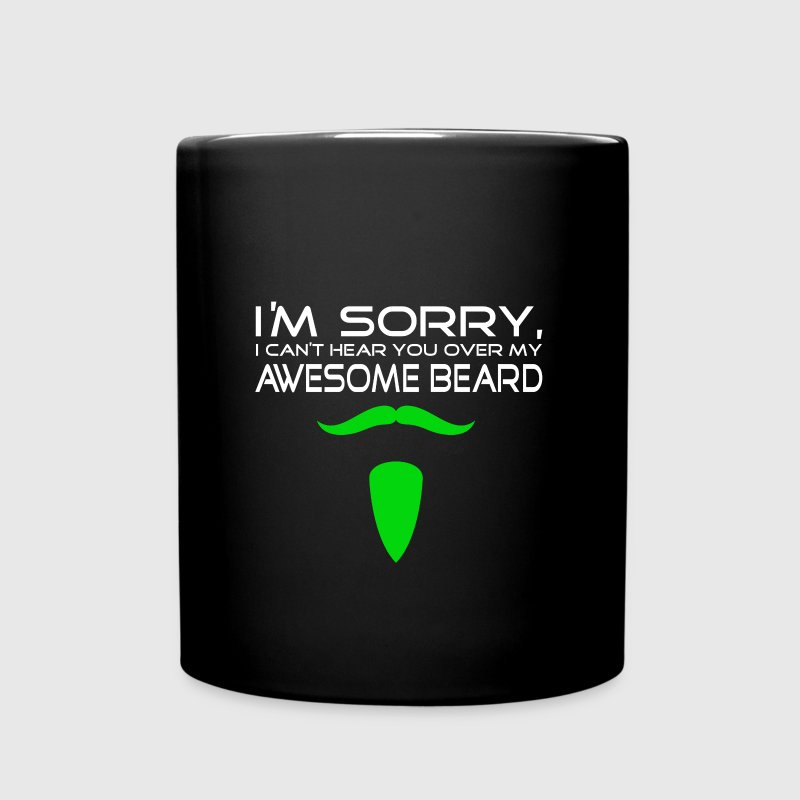 beard Mugs & Drinkware - Full Color Mug
