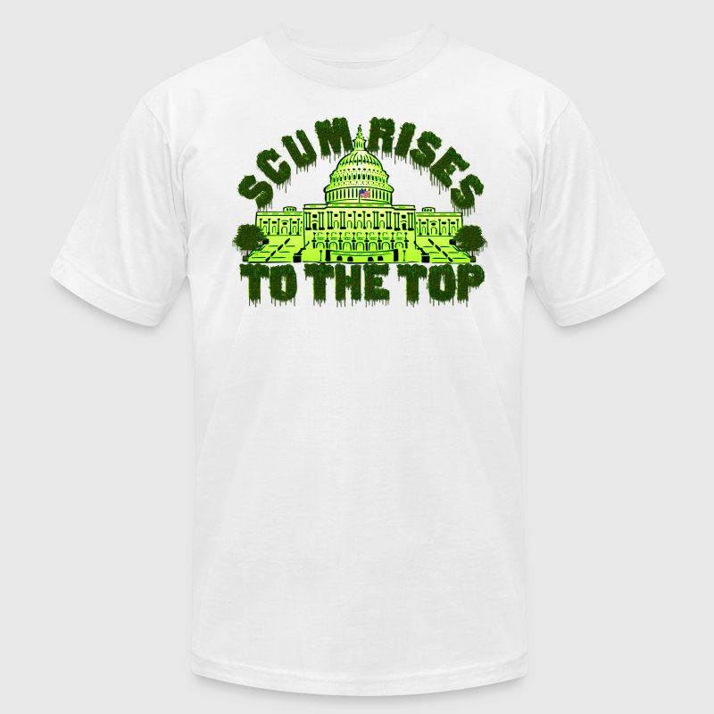 Scum Rises To The Top Shirt - Men's T-Shirt by American Apparel