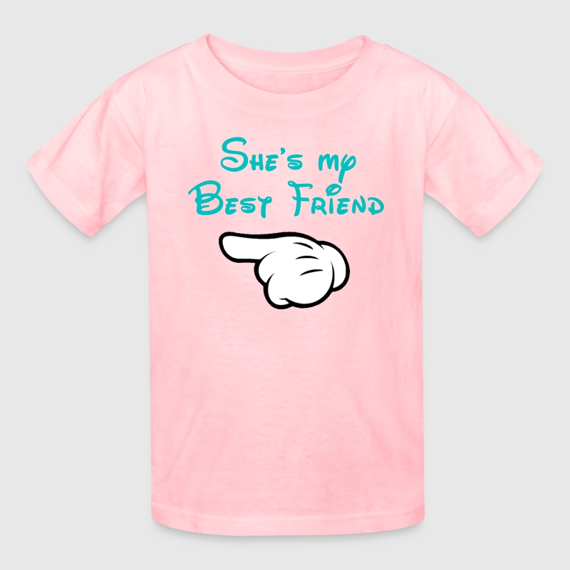 My BFF Mickey hand pointing right Kid's T-shirt - Kids' T-Shirt