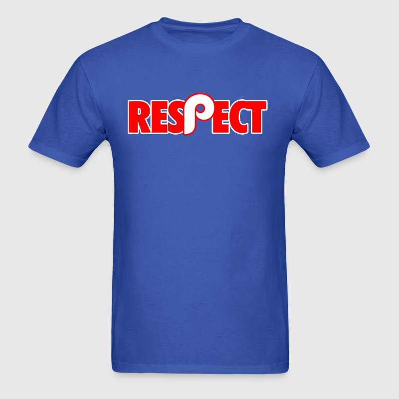 Respect Philly T-Shirts - Men's T-Shirt