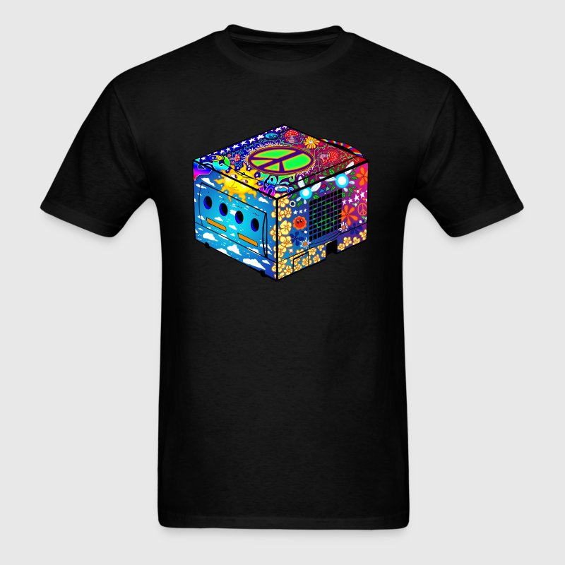Hippie Gamecube T-Shirts - Men's T-Shirt