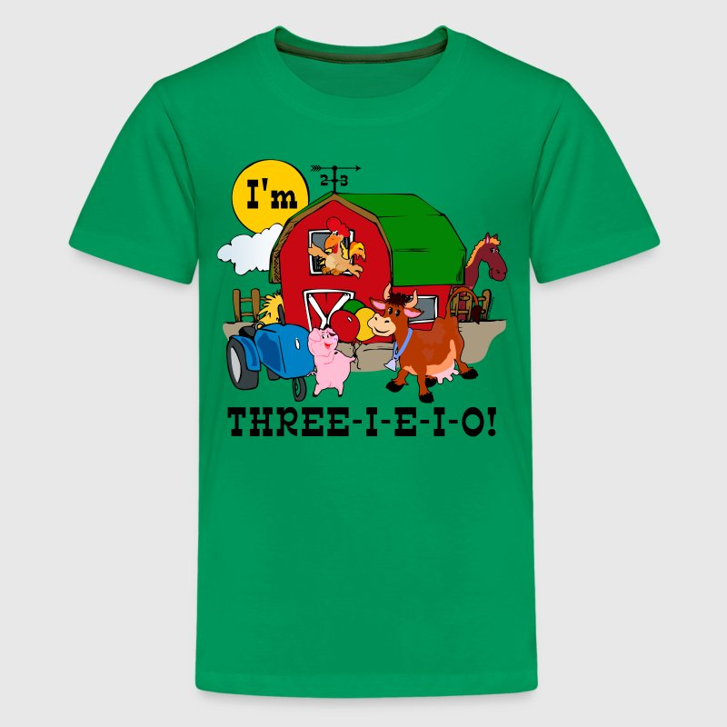 THREE-I-E-I-O Kids' Shirts - Kids' Premium T-Shirt