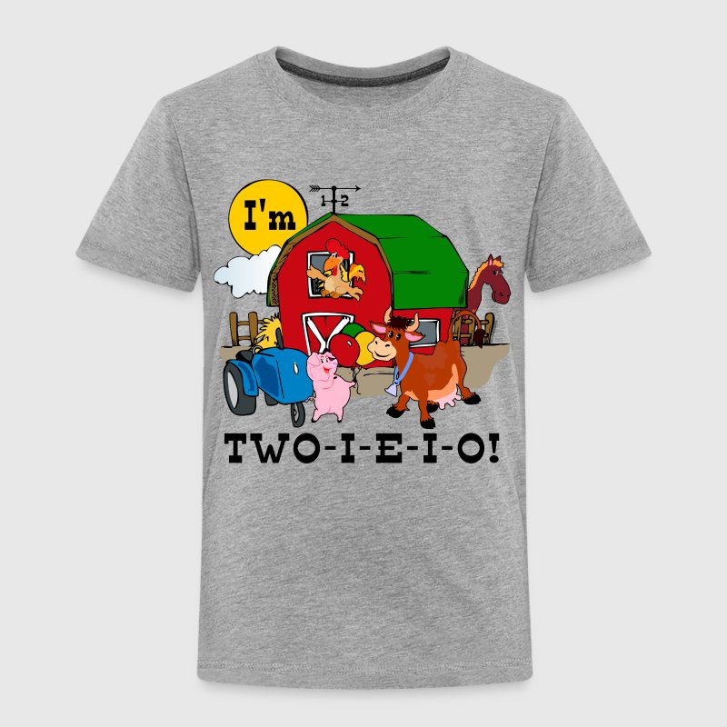 TWO-I-E-I-O Baby & Toddler Shirts - Toddler Premium T-Shirt
