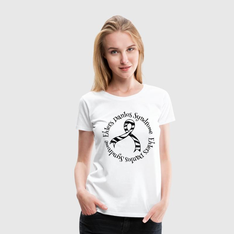Ehlers Danlos Syndrome Awareness Women's T-Shirts - Women's Premium T-Shirt