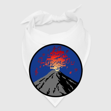 volcano_eruption_rock_music_c_3c Accessories - Bandana