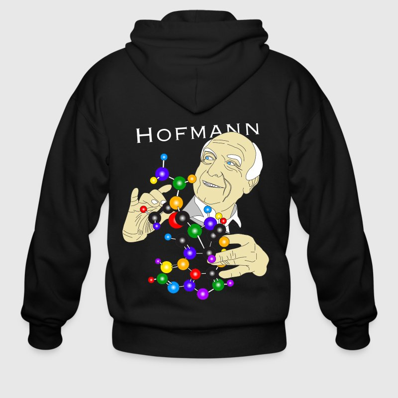 Dr. Albert Hofmann (The Origins of Religion) Zip Hoodies & Jackets - Men's Zip Hoodie