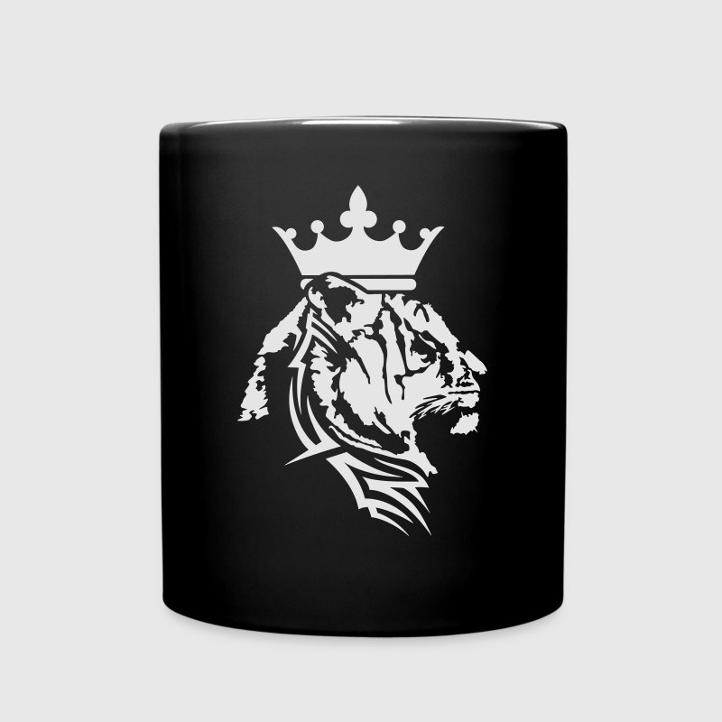 Tiger crown pattern Mugs & Drinkware - Full Color Mug