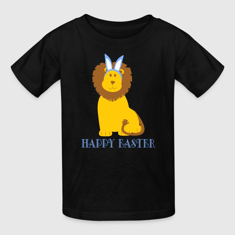 Happy Easter Lion Bunny Ears - Kids' T-Shirt